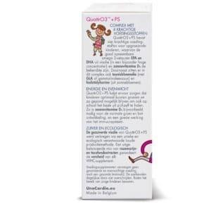 Care by Nature QuattrO3+PS omega-3 voor kinderen Zijkant