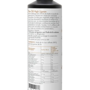 Care by Nature UnoCardio 1000 Achterzijde Flax Oil High Lignan