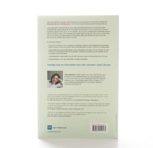 achterzijde boek Stralend door de menopauze
