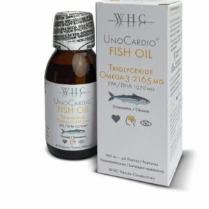 UnoCardio Fish Oil - hoog gedoceerd en zuivere omega-3