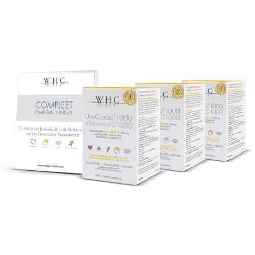 omega-3 indextest Compleet en 3 UnoCardio 1000