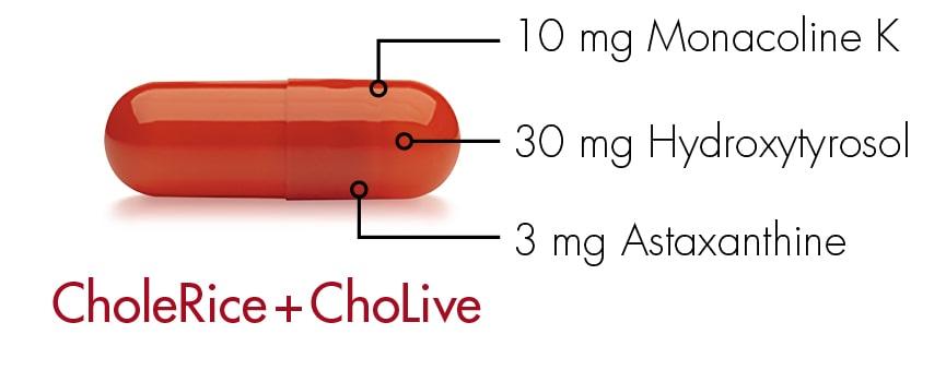 CholeRice Monacoline K uit Rode gist rijst nu ook geschikt voor vegans Care by Nature