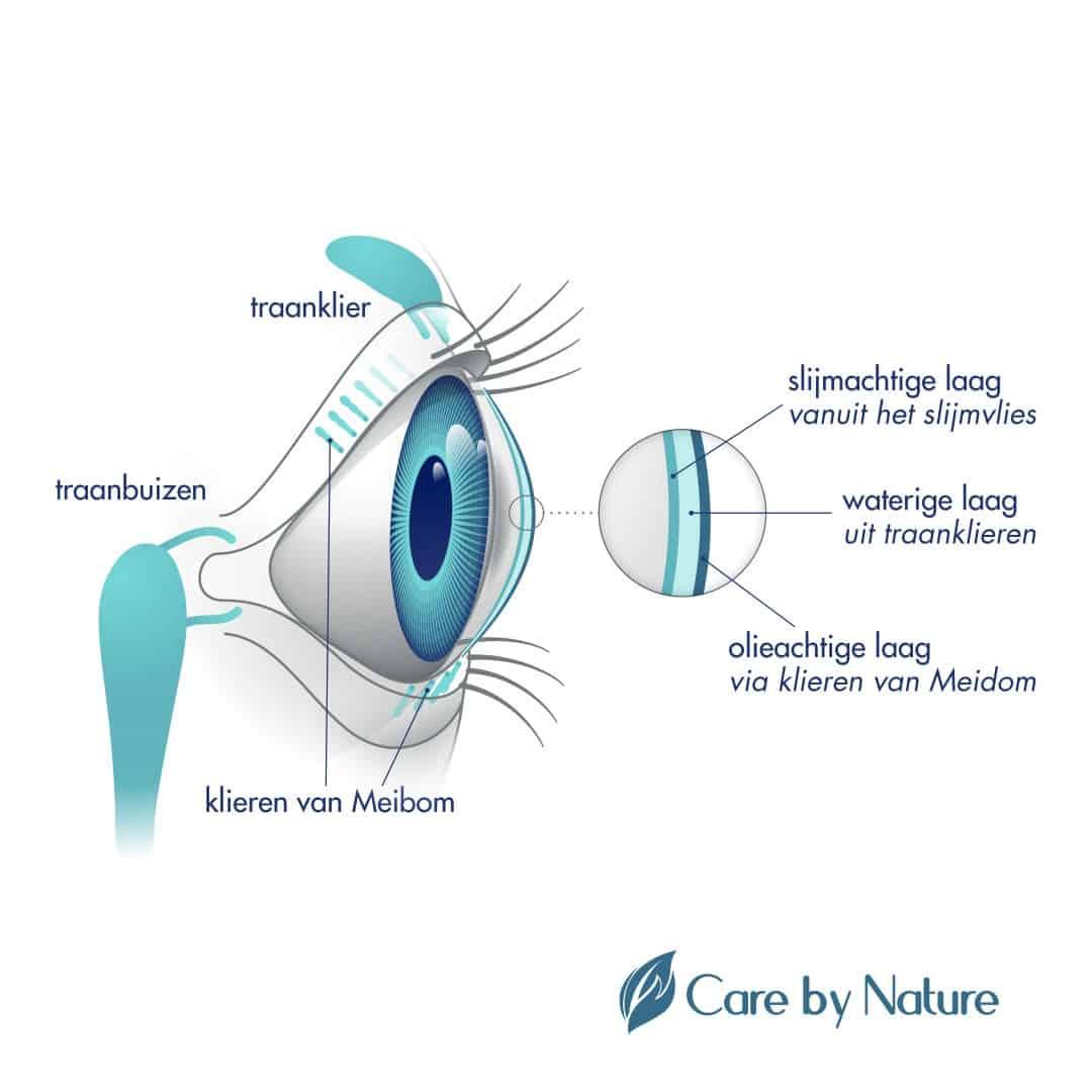 Gezonde werking van ogen Care by Nature